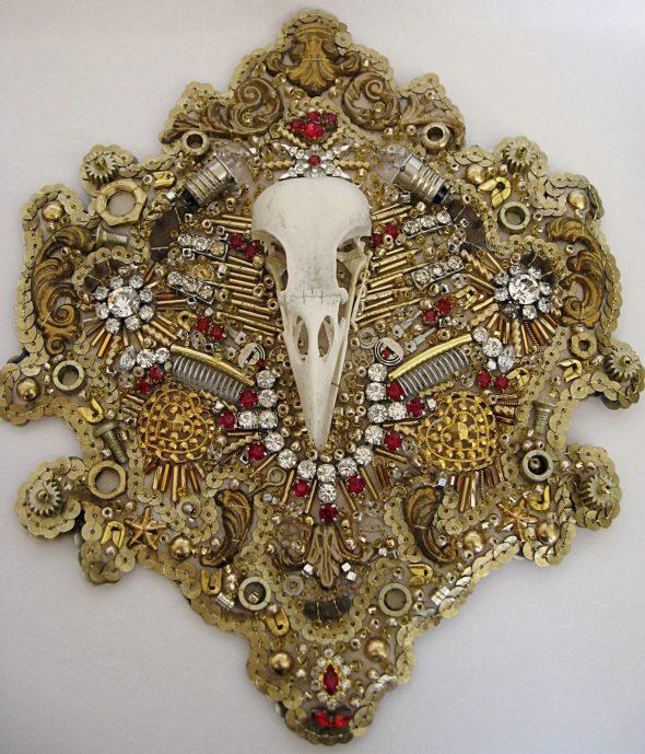 Catriona Faulkner Baroque skull