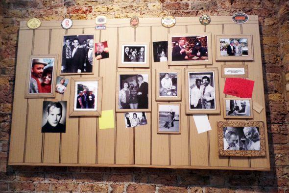 A Proper East End Pub – in cardboard.