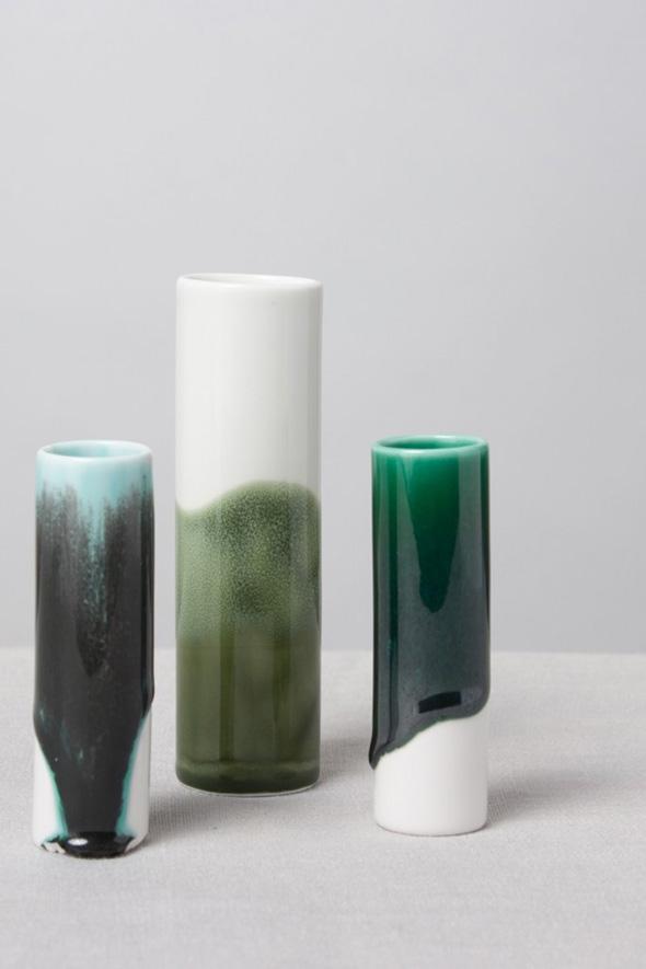 reiko kaneko studio glaze vases