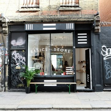 'The Basics Store' from 2nd December – 40 Rivington Street