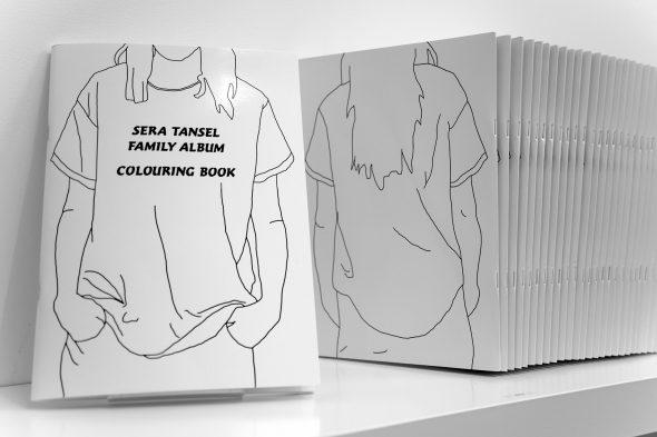 Sera Tansel Family Album Colouring Book