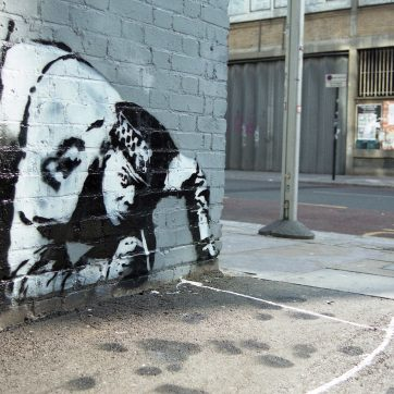 HCD & Banksy on Curtain Road