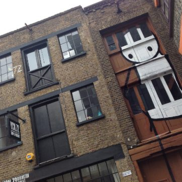 Spotting Shoreditch's Creative Past
