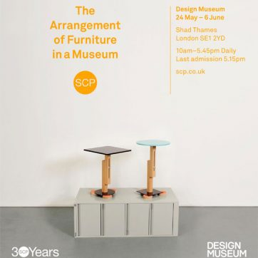 The Arrangement of Furniture in a Museum at Design Museum