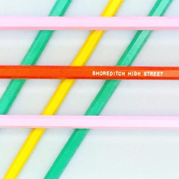 Pick 'n' Mix Pencil Par at Creative Clerkenwell's London Design Souvenirs pop-up shop