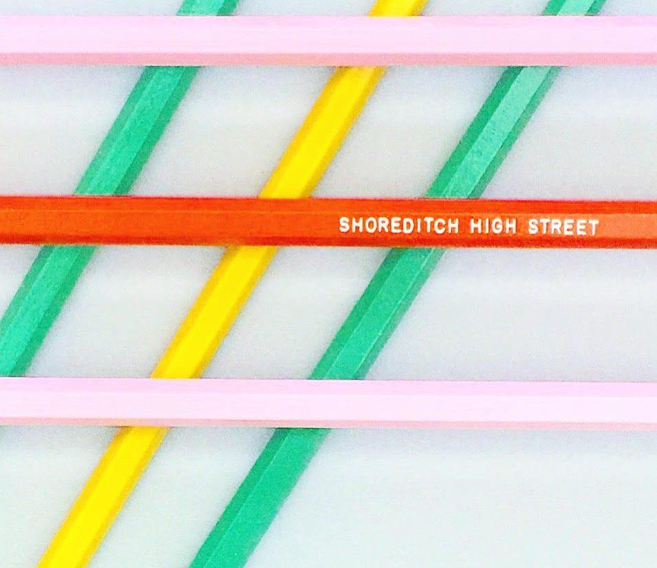 Pick 'n' Mix Pencil Par at Creative Clerkenwell's London Design Souvenirs pop-up shop