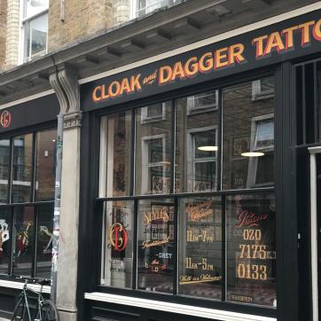 Cloak and Dagger Tattoo Parlour
