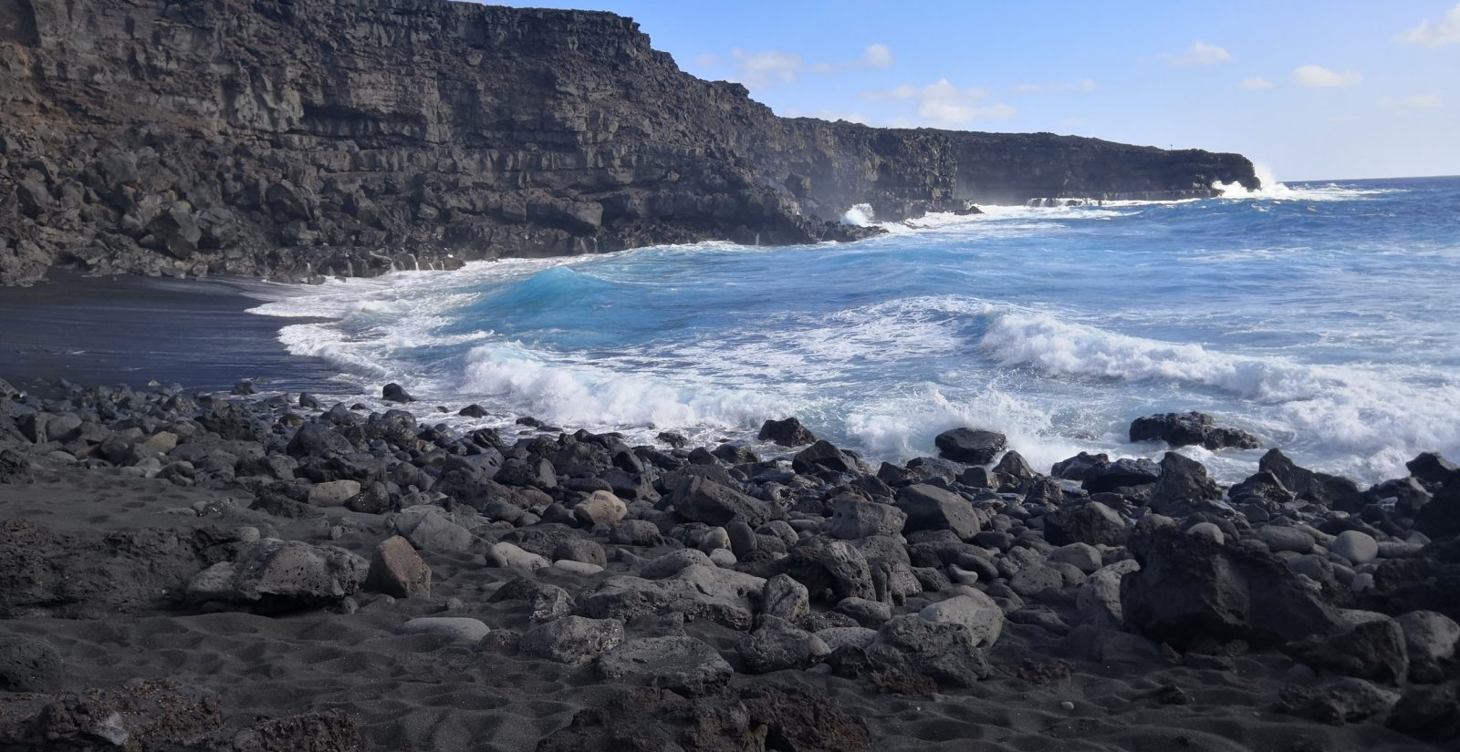 Lanzarote black beach